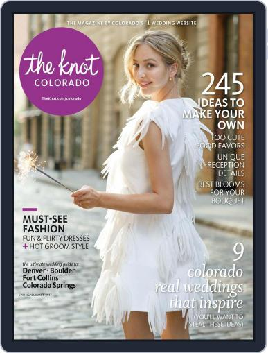 The Knot Colorado Weddings January 1st, 2017 Digital Back Issue Cover