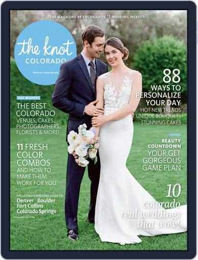 The Knot Colorado Weddings May 16th, 2016 Digital Back Issue Cover