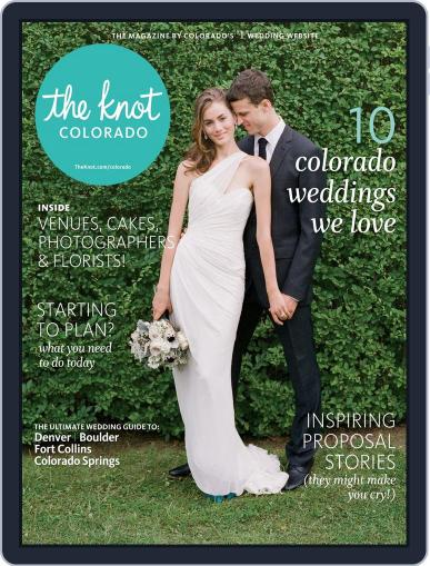 The Knot Colorado Weddings November 17th, 2014 Digital Back Issue Cover