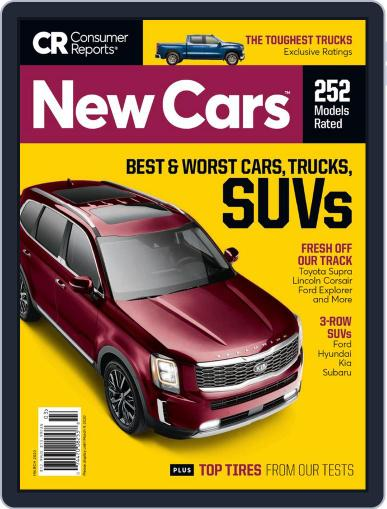 Consumer Reports New Cars March 1st, 2020 Digital Back Issue Cover