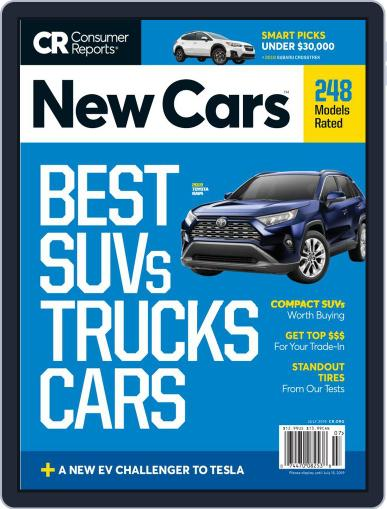 Consumer Reports New Cars July 1st, 2019 Digital Back Issue Cover
