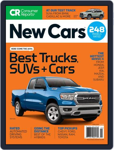 Consumer Reports New Cars April 1st, 2019 Digital Back Issue Cover