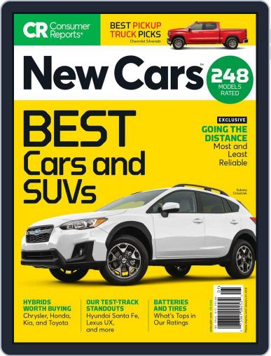 Consumer Reports New Cars January 1st, 2019 Digital Back Issue Cover