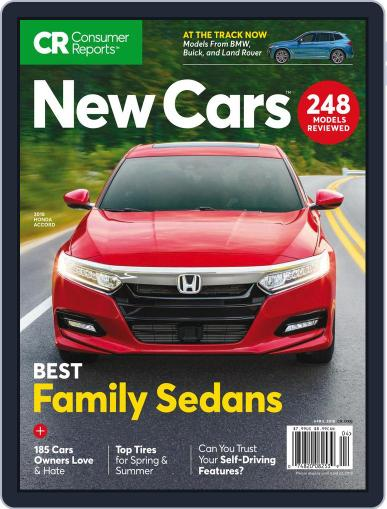 Consumer Reports New Cars April 1st, 2018 Digital Back Issue Cover