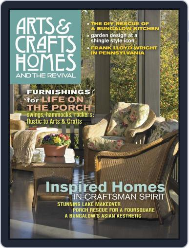 Arts & Crafts Homes April 1st, 2017 Digital Back Issue Cover