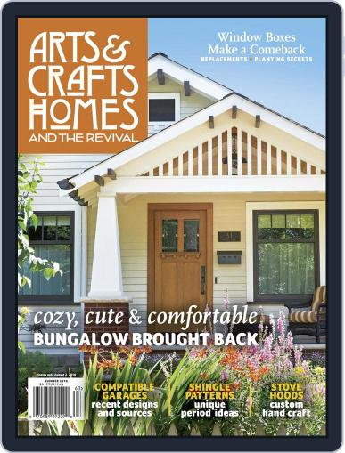 Arts & Crafts Homes May 10th, 2016 Digital Back Issue Cover