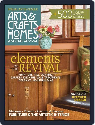 Arts & Crafts Homes December 22nd, 2015 Digital Back Issue Cover