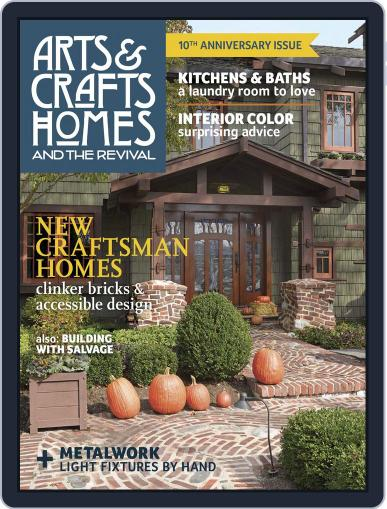 Arts & Crafts Homes August 1st, 2015 Digital Back Issue Cover