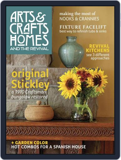 Arts & Crafts Homes March 3rd, 2015 Digital Back Issue Cover