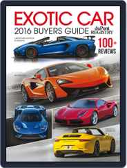 Exotic Car Buyers Guide Magazine (Digital) Subscription January 1st, 2016 Issue