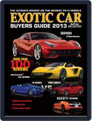Exotic Car Buyers Guide Magazine (Digital) Subscription July 1st, 2013 Issue