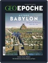 GEO EPOCHE (Digital) Subscription October 1st, 2017 Issue
