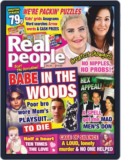 Real People May 21st, 2020 Digital Back Issue Cover
