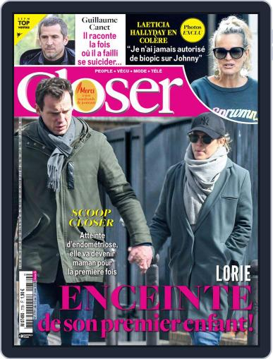Closer France May 13th, 2020 Digital Back Issue Cover