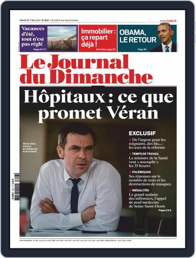 Le Journal du dimanche May 17th, 2020 Digital Back Issue Cover