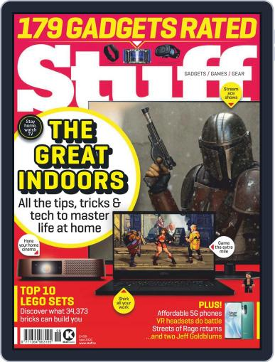 Stuff UK June 1st, 2020 Digital Back Issue Cover