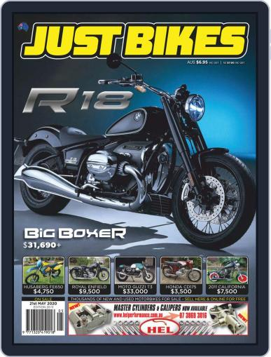 Just Bikes May 8th, 2020 Digital Back Issue Cover