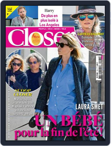 Closer France May 22nd, 2020 Digital Back Issue Cover