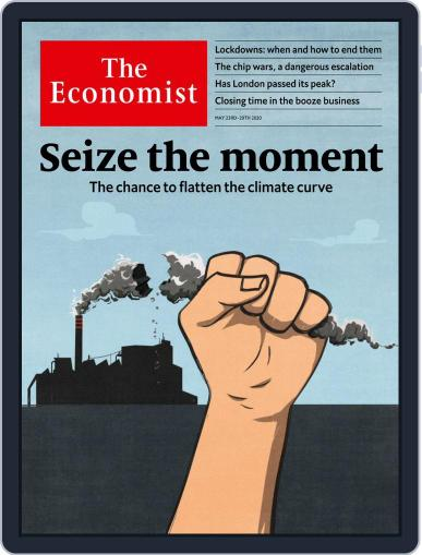 The Economist Continental Europe Edition May 23rd, 2020 Digital Back Issue Cover