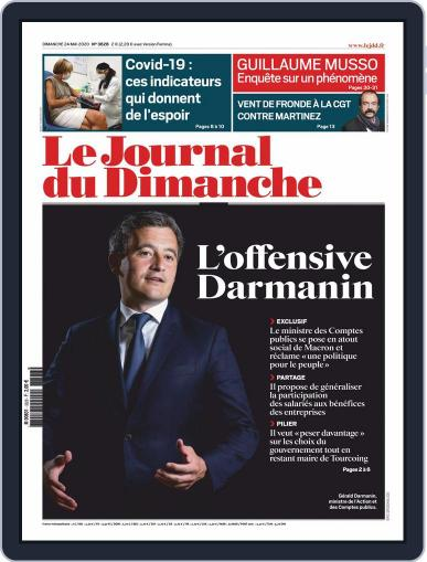 Le Journal du dimanche May 24th, 2020 Digital Back Issue Cover