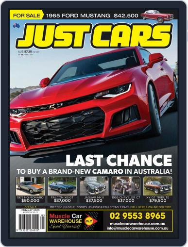 Just Cars May 28th, 2020 Digital Back Issue Cover