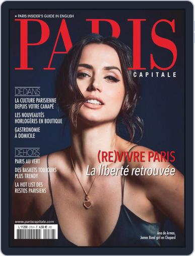 Paris Capitale May 1st, 2020 Digital Back Issue Cover