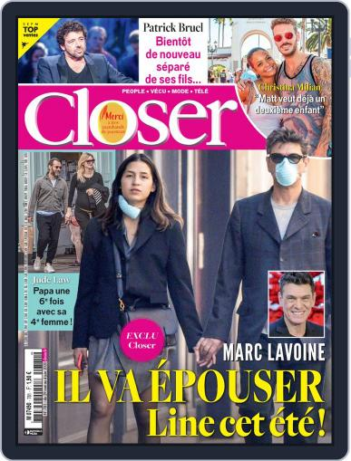 Closer France May 29th, 2020 Digital Back Issue Cover