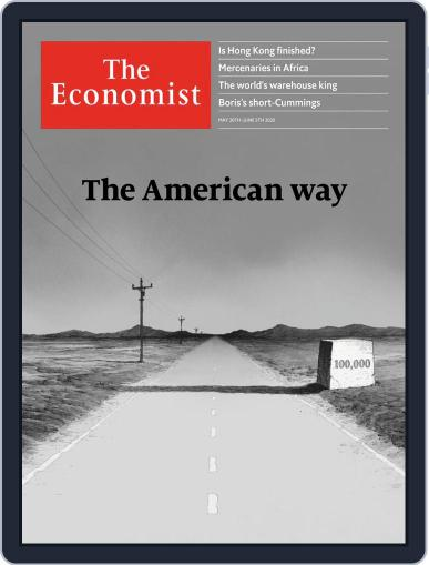 The Economist Continental Europe Edition May 30th, 2020 Digital Back Issue Cover