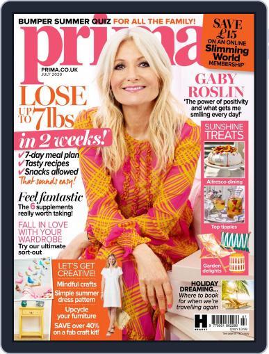 Prima UK July 1st, 2020 Digital Back Issue Cover
