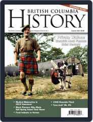 British Columbia History (Digital) Subscription June 1st, 2020 Issue