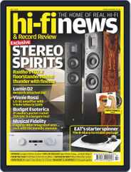 Hi Fi News (Digital) Subscription July 1st, 2020 Issue