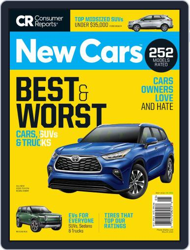 Consumer Reports New Cars May 1st, 2020 Digital Back Issue Cover