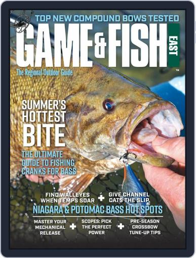 Game & Fish East August 1st, 2020 Digital Back Issue Cover