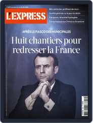 L'express (Digital) Subscription July 2nd, 2020 Issue