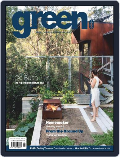 Green July 1st, 2020 Digital Back Issue Cover