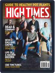 High Times (Digital) Subscription August 1st, 2019 Issue