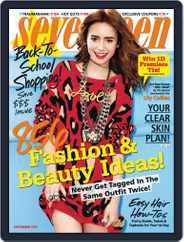 Seventeen (Digital) Subscription August 1st, 2013 Issue