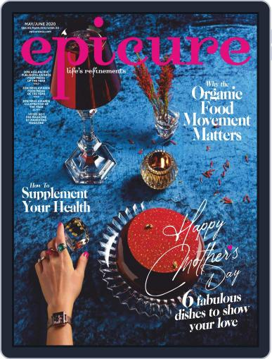 epicure May 1st, 2020 Digital Back Issue Cover
