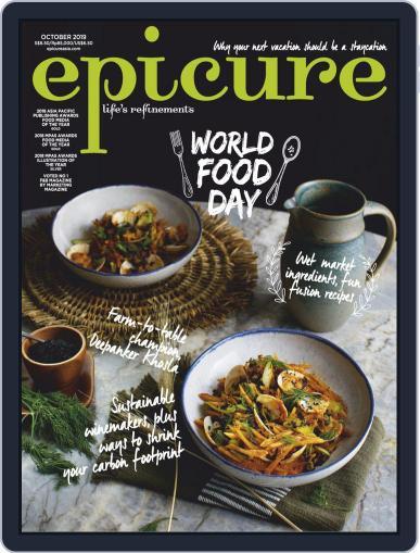 epicure October 1st, 2019 Digital Back Issue Cover