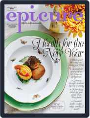 epicure (Digital) Subscription January 1st, 2016 Issue