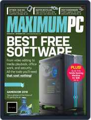 Maximum PC (Digital) Subscription November 1st, 2019 Issue
