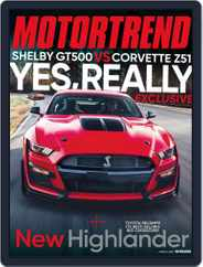MotorTrend (Digital) Subscription March 1st, 2020 Issue