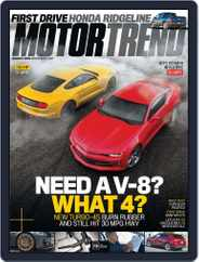 MotorTrend (Digital) Subscription August 1st, 2016 Issue
