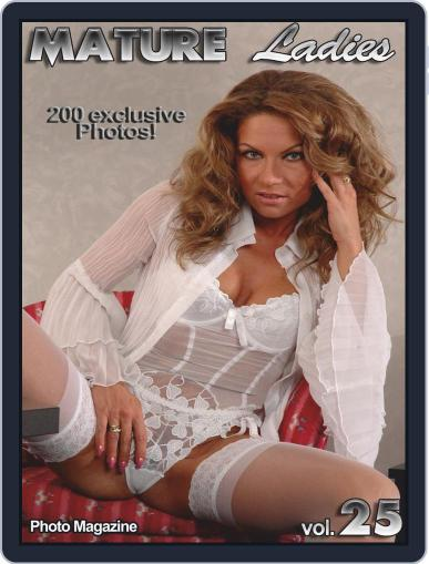 Mature Ladies Adult Photo October 9th, 2018 Digital Back Issue Cover