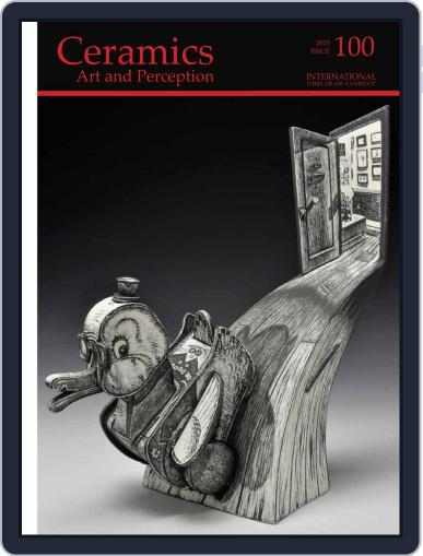 Ceramics: Art and Perception June 1st, 2015 Digital Back Issue Cover