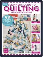 Beginner's Guide to Quilting Magazine (Digital) Subscription January 24th, 2019 Issue