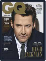 GQ Australia (Digital) Subscription June 1st, 2018 Issue