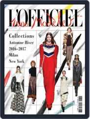 L'Officiel 1000 modèles - L'Intégrale Magazine (Digital) Subscription September 12th, 2016 Issue