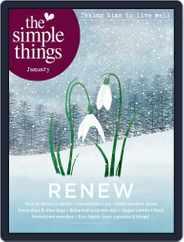 The Simple Things (Digital) Subscription January 1st, 2020 Issue