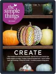 The Simple Things (Digital) Subscription October 1st, 2019 Issue